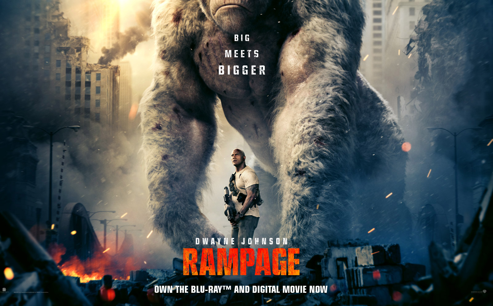 Rampage – Official Movie Site – Own The Blu-ray™ and Digital Movie Now